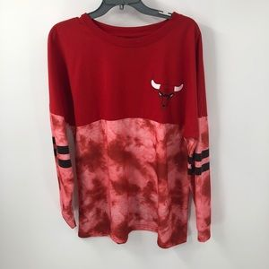 NBA Chicago Bulls Tie Dye Sweatshirt Sz XL